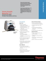 Thermo Scientific Masterflex P/S - Motion Industries