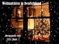 Weihnachten in Deutschland - Aust-Agder fylkeskommune