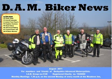 DAM Biker News - Derbyshire Advanced Motorcyclists