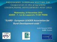 ELARD - European LEADER Association for Rural Development-aisbl