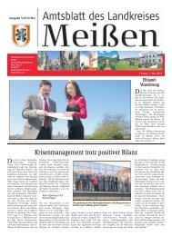 Amtsblatt 05/2010 vom 07.05.2010 [Download ... - Landkreis Meißen