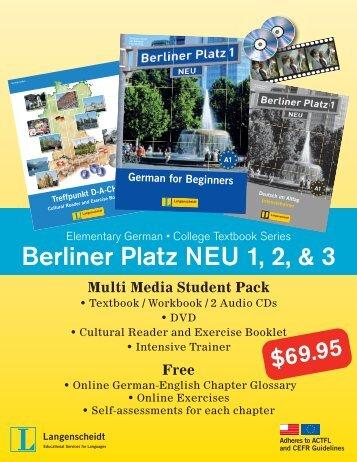 Berliner Platz Neu Cds Zum Lehrbuchteil 2 2 German Edition
