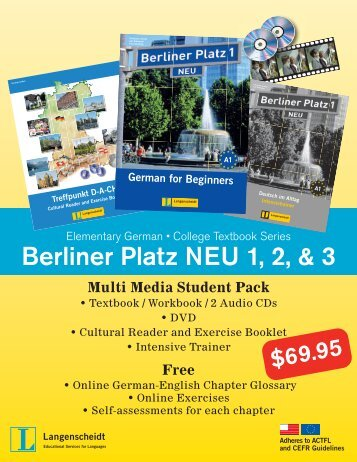 Berliner Platz NEU 1, 2, & 3