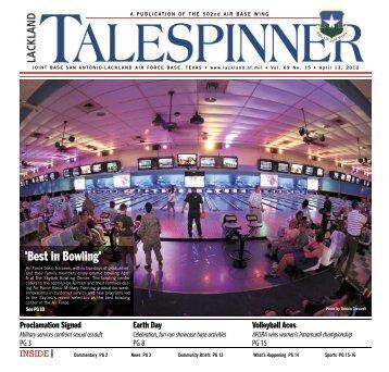 April 13, 2012 - San Antonio News