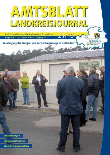 und Verwertungsanlage in Dettendorf - Landkreis Neustadt an der ...