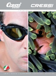 catalogue 2 0 1 3 swim | nuoto | schwimmen | natation ... - Cressi