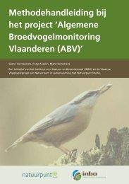 ABV methodefolder - Natuurpunt