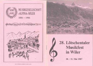 Festbüchlein als PDF herunterladen - MG Alpina Wiler