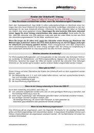 Kosten Der Unterkunft / Umzug - Kreis Ostholstein