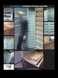 PLANORAMA® ALUMINIUM STORAGE SYSTEMS