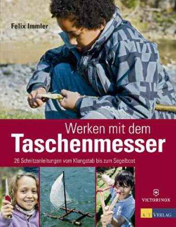 Fachgerechte Anwendung des Taschenmessers - AT Verlag