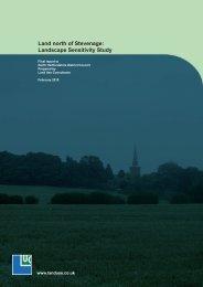 North of Stevenage Landscape Sensitivity Study Part 1