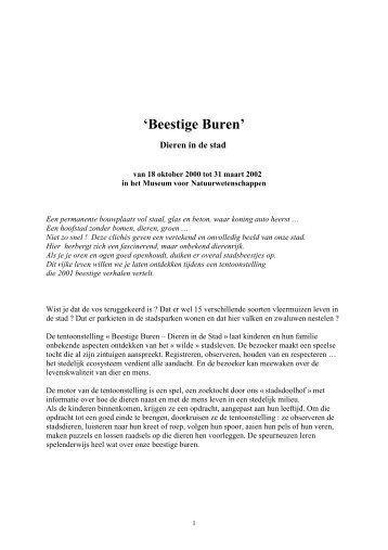 Om te printen - Koninklijk Belgisch Instituut voor ...