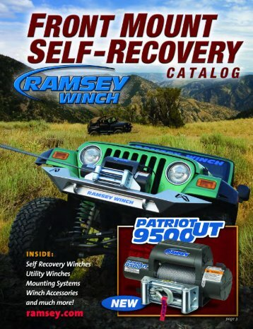 Why Choose A Ramsey Winch?