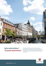 """Digital sagsbehandling af """"det grønne ejendomsskema"""""""