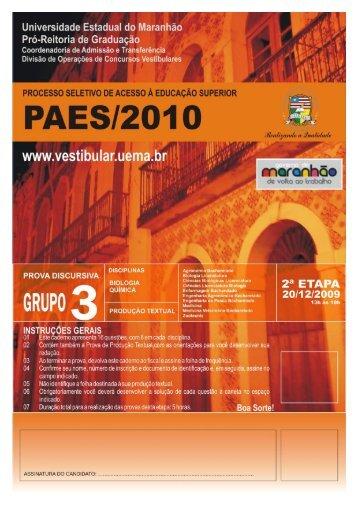 PAES / 2010 - Castro web