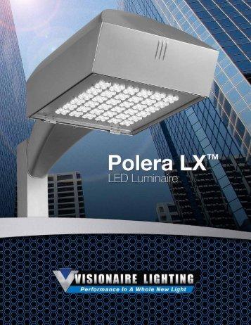 Polera LX™ - LED - Visionaire Lighting, LLC