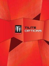 TiLite Options Brochure - Seating Dynamics