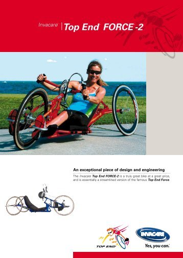 Top End® FORCE®-2 - The Mobility Aids Centre