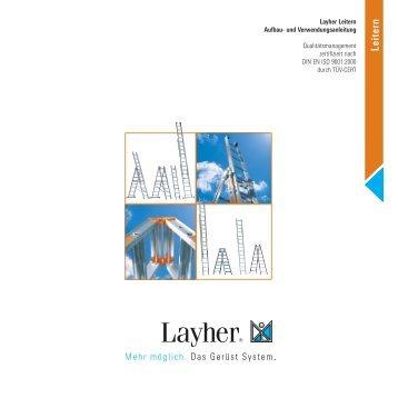 Leitern - Layher