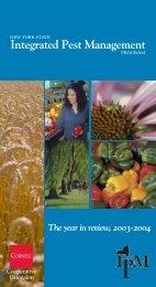 2003-2004 - New York State Integrated Pest Management Program ...