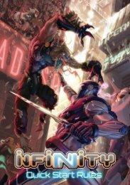 Infinity – Schnellstartregeln PDF | 9,2 MB - Ulisses Spiele