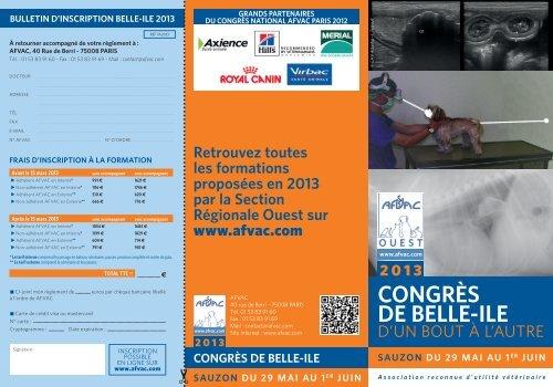 congrès de belle-ile - AFVAC