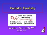 Syndromes in Pediatric Dentistry