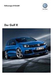 Der Golf R - Volkswagen AG