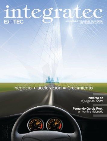 Edición 82 Abril - Junio 2009. - Exatec - Tecnológico de Monterrey