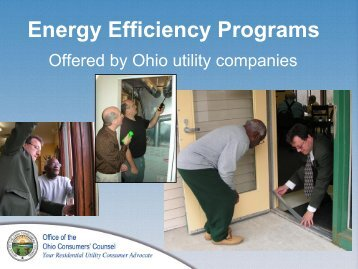 Energy Efficiency Programs - Mid-Ohio Regional Planning ...