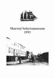 Marstal Ssfartsmuseum 1993 - WebKontrol V.5 | Bakuri A/S