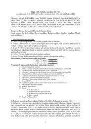 1 Zápis z 25. řádného zasedání AS FEL konaného dne 12. 1. 2007 ...
