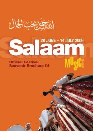 Salaam Music Village 2006 - Cultural Co-operation