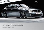 La Classe CLS Nouvelle Génération - Sitesreseau.mercedes.fr ...