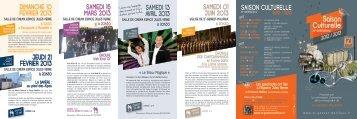 Saison Culturelle - Saint-Genest-Malifaux