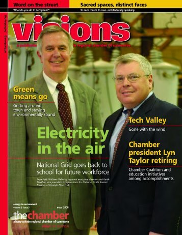 Electricity in the air - Albany Colonie Regional Chamber of Commerce