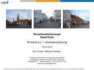 Markt- und Standortanalysen für Einzelhandel ... - Kreis Ostholstein
