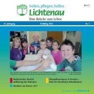 """Aufklärung des Patienten Abschied vom letzten """"Zivi"""" - Lichtenau e.V."""