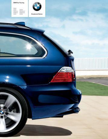 Freude am Fahren BMW 5er Touring 520i 523i 520d 525i/xi 525d/xd ...