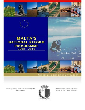 National reform programme 2008-2010 Malta - European Commission