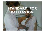 STANDARD FOR PALLIASJON - Ous-research.no