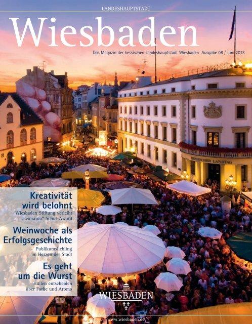"""Wiesbaden Magazin"", Ausgabe 08, Juni 2013 (PDF | 5,55 MB)"