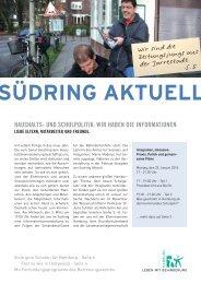 Südring Aktuell - Januar 2010 - Leben mit Behinderung Hamburg
