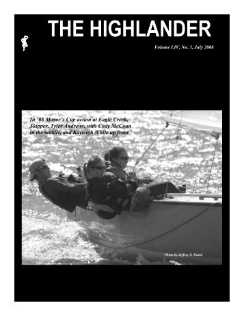 July 2008 - Highlander Class International Association