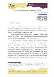 LAS NUEVAS DIMENSIONES DEL DIÁLOGO SOCIAL ... - ASET