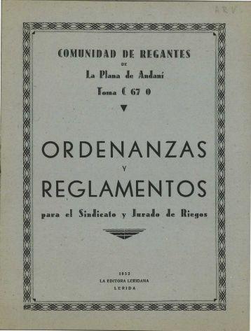 REGLAMENTOS - Sol-Torres