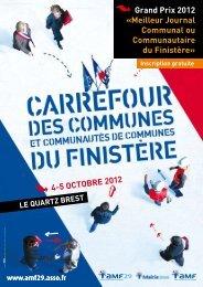 Grand Prix 2012 - Association des Maires du Finistère