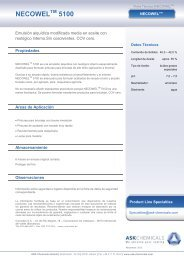 Necowel 5100_es.pdf - ASK Chemicals