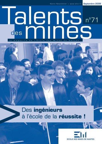 talent 71.indd - Ecole des mines de Nantes